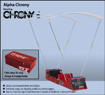 Shooting Chrony Alpha Chrony Chronoscope
